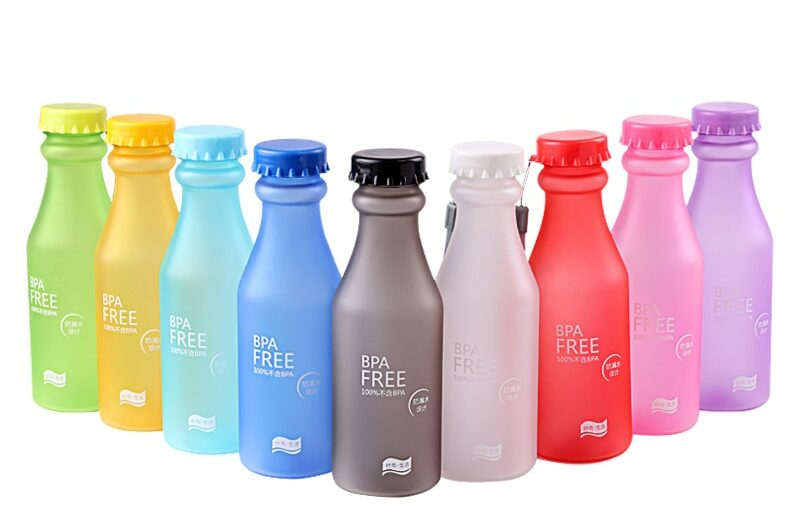 Candy Color unzerbrechliche Trinkflasche